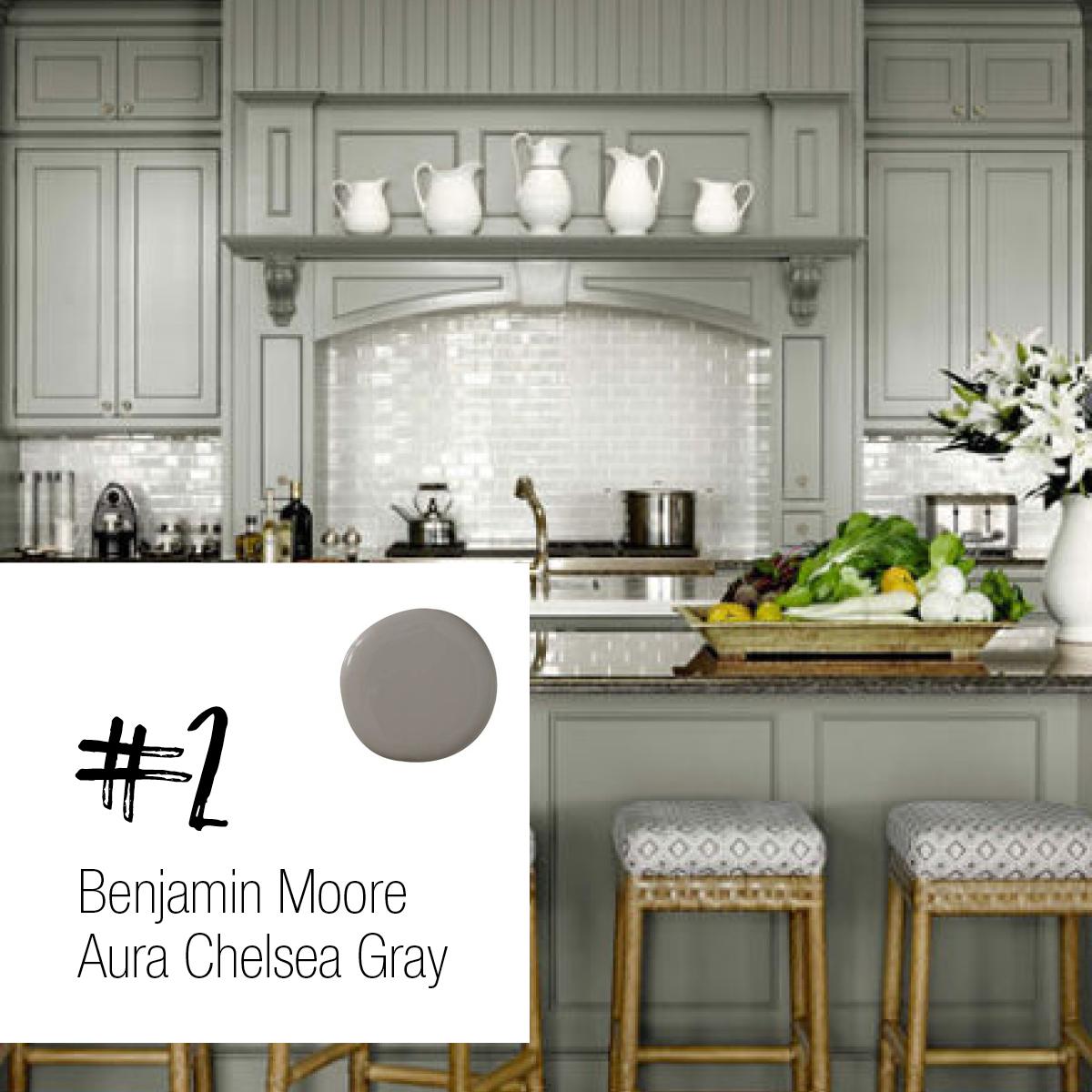 Benjamin Moore Aura Chelsea Gray