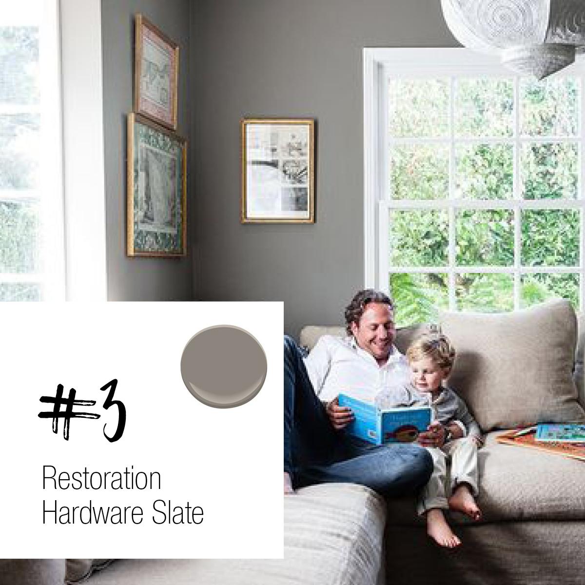 Restoration Hardware Slate