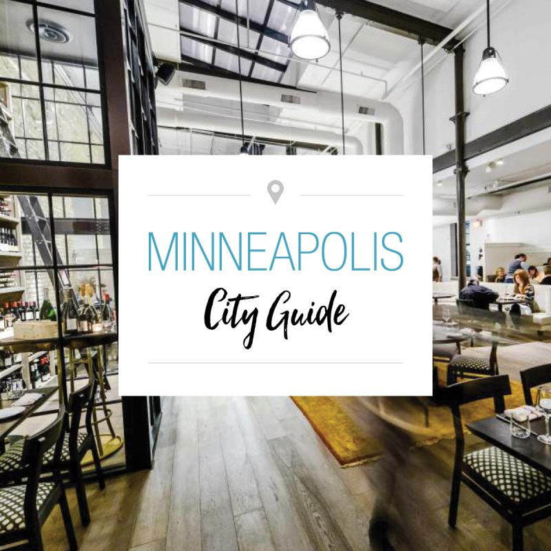 Minneapolis City Guide graphic